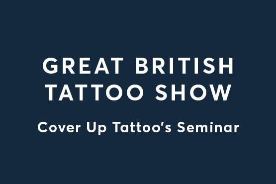 Great British Tattoo Show Seminar Graphic