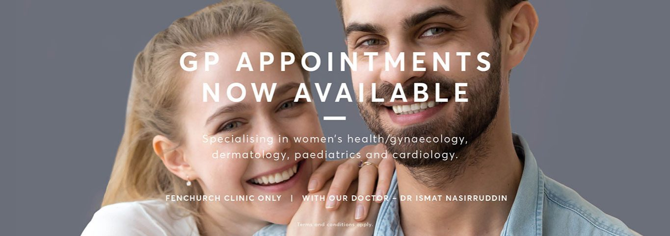 GP appointments at Pulse Light Clinic