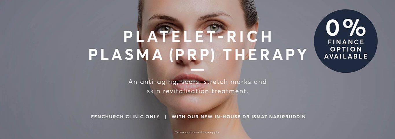Platelet Rich Plasma PRP Therapy Model Graphic