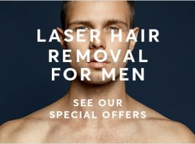 Mens Laser Hair Removal Special Offer