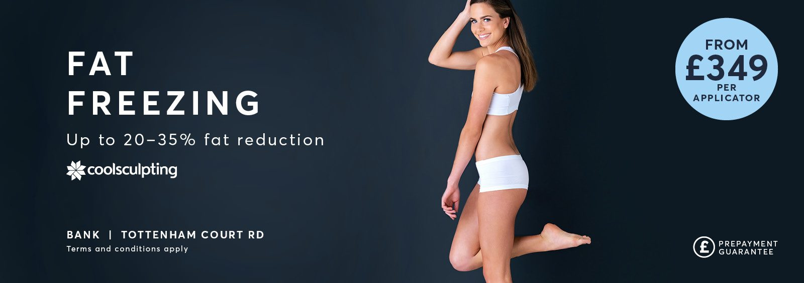 Coolsculpting from £349 banner