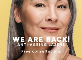 Laser treatment for anti-ageing