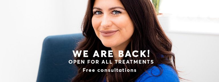 Open for All treatments from the 12th of April