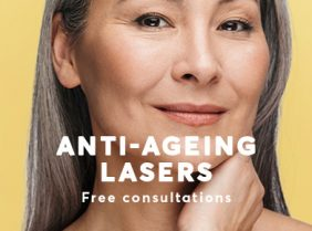 Anti-wrinkle treatment with laser