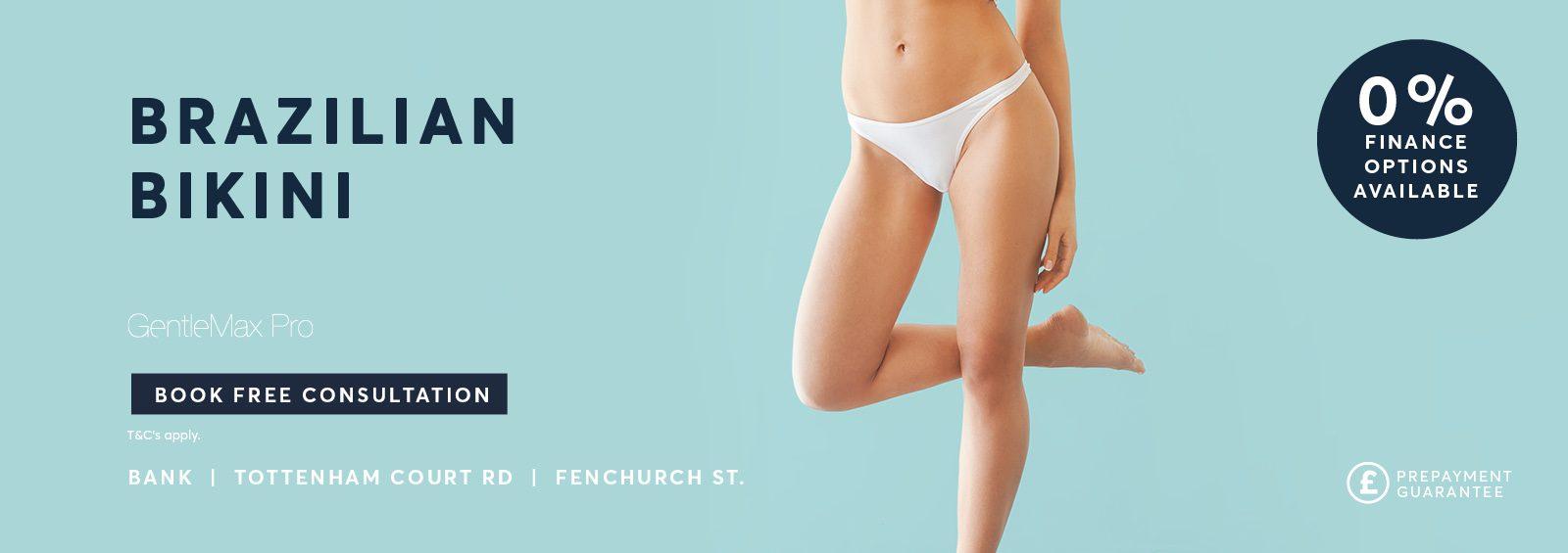 Brazilian Bikini Laser Hair removal