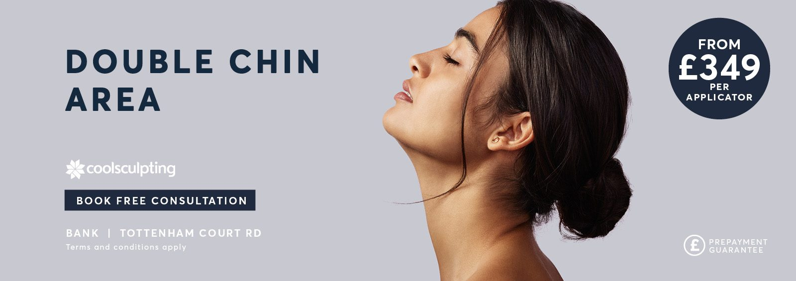 Fat Freezing Double Chin CoolSculpting treatment