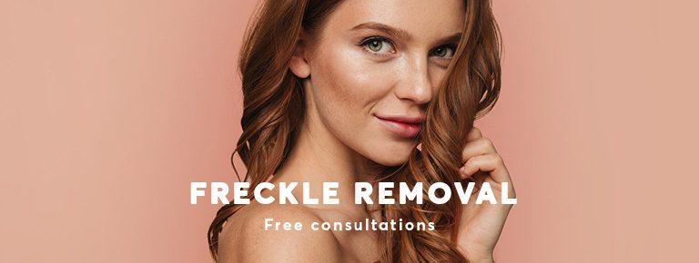 Freckle Treatment London