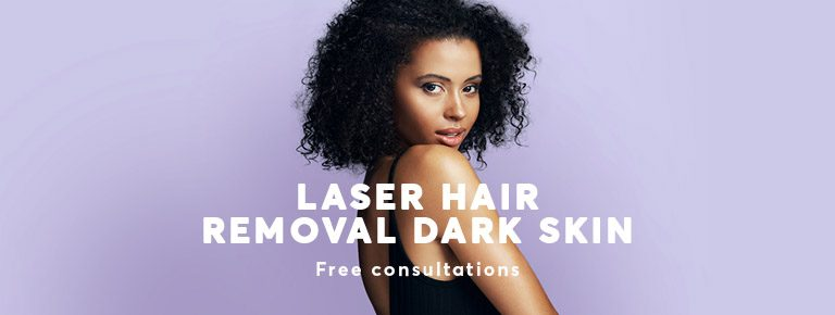 Hair Removal by Laser for dark skin