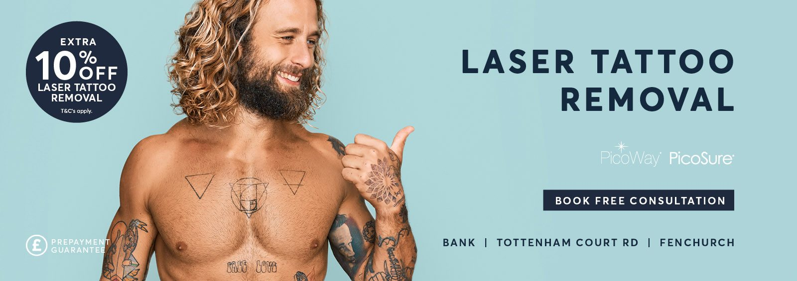 Laser Tattoo Removal discount extra 10 percent