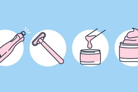 Hair Removal Methods Blog Post