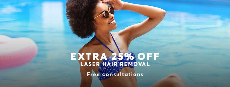 Hair Removal by Laser Summer Offer