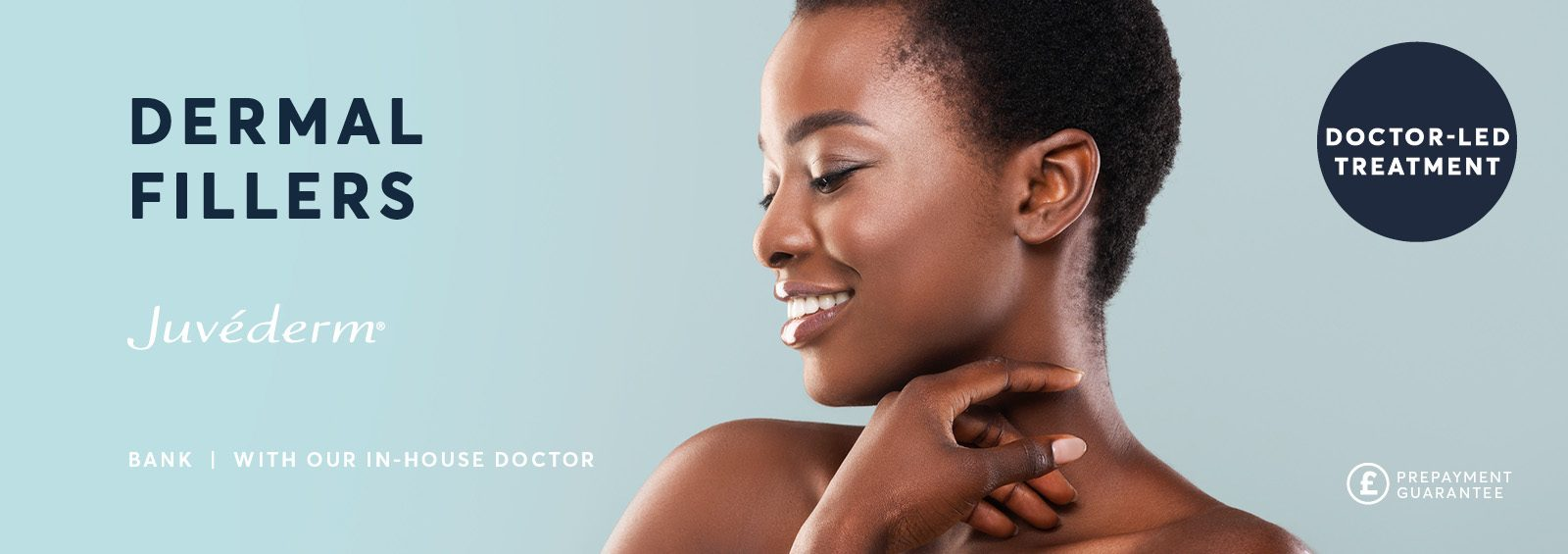 derma fillers injections London banner