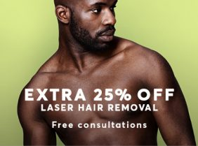 Male Laser Hair removal august offer