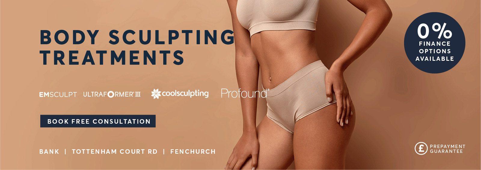 Body sculpting treatments October 21