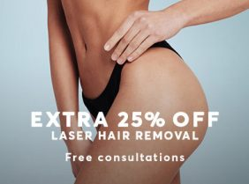 Laser Hair Removal 25% Off Autumn